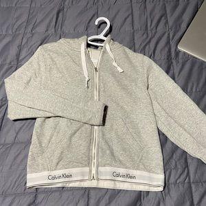 Calvin Klein zip up hoodie!